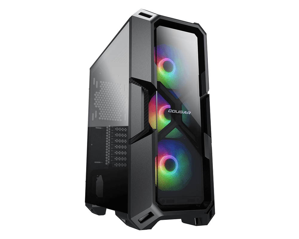Cougar MX350 RGB ATX Mid Tower Gaming Case