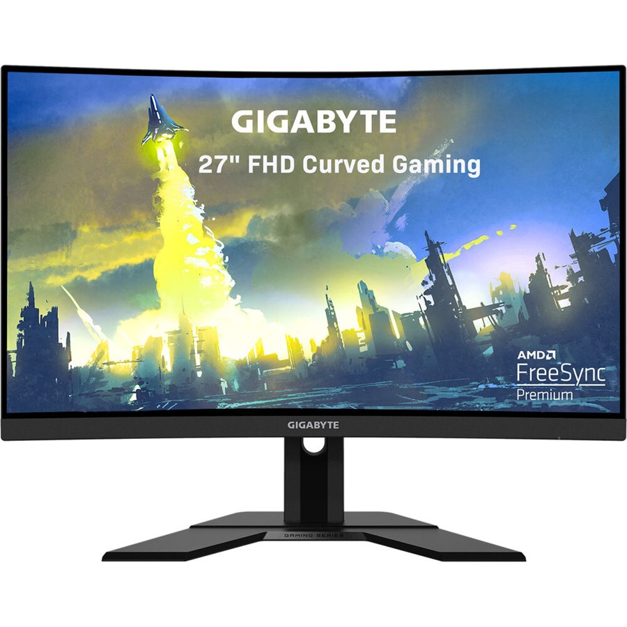 """Gigabyte G27FC 27"""" FHD Curved Gaming Monitor"""