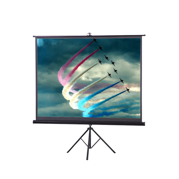 Hashmo 6'X6' Tripod With Stand Projector Screen