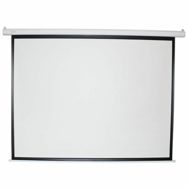 Lucky 12'X9' Electric Motorised Wall Mount Projector Screen