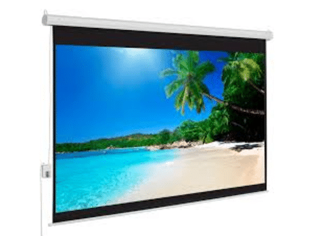 Lucky 12'X9' Wall Mount Projector Screen