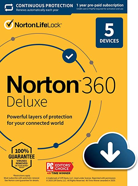 Norton 360 Deluxe Offers Protection