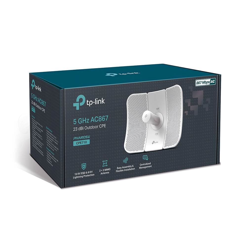 Tplink CPE710 5GHz 867Mbps 23dBi Outdoor CPE