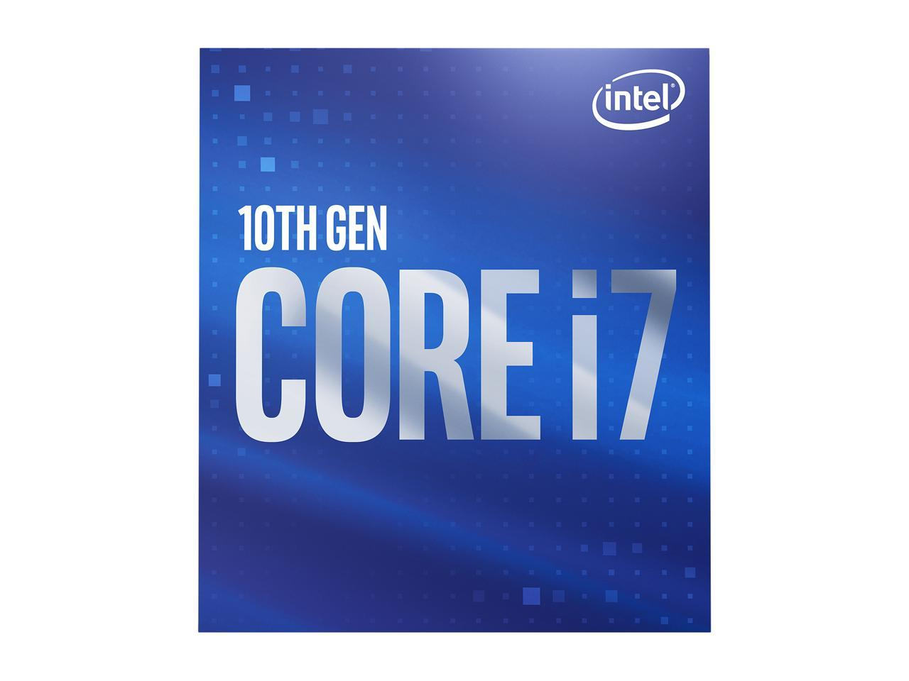 Intel Core I7 10700 10th Gen. 2.9GHZ 16MB Cache
